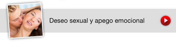 Deseo sexual y apego emocional